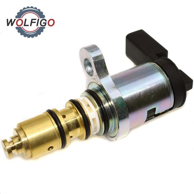 Wolfigo Ac Compressor Controle Magneetventiel Voor Audi Vw Sanden PXE13 PXE16 1K0820803 1K0820803F