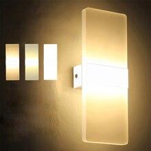 Новинка 2020 светодиодный настенный светильник 220 В 110 прикроватный