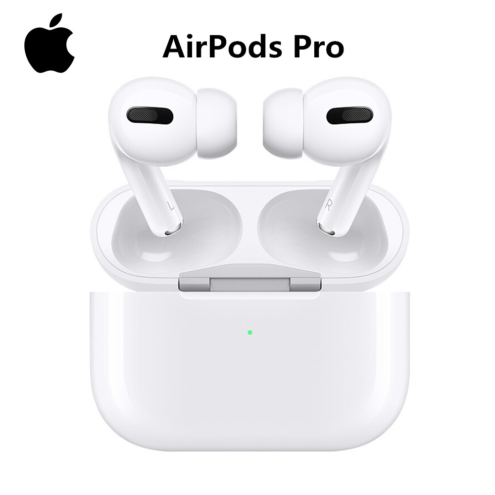 Apple AirPods Pro 3 с зарядным чехлом air pod наушники оригинальные Bluetooth наушники для iPhone 7 8 11 6S XS XR Plus iPad Watch