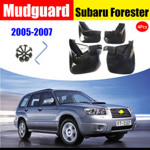 FOR Subaru Forester 2005-2007 Mudguard Fenders Splash Mudflaps Guard Fenders Mudguards Mud Flap Car accessories auto styline auto mud flap splash guard mudguard for mercedes benz c class w204 2007 2010 car accessories 4pcs