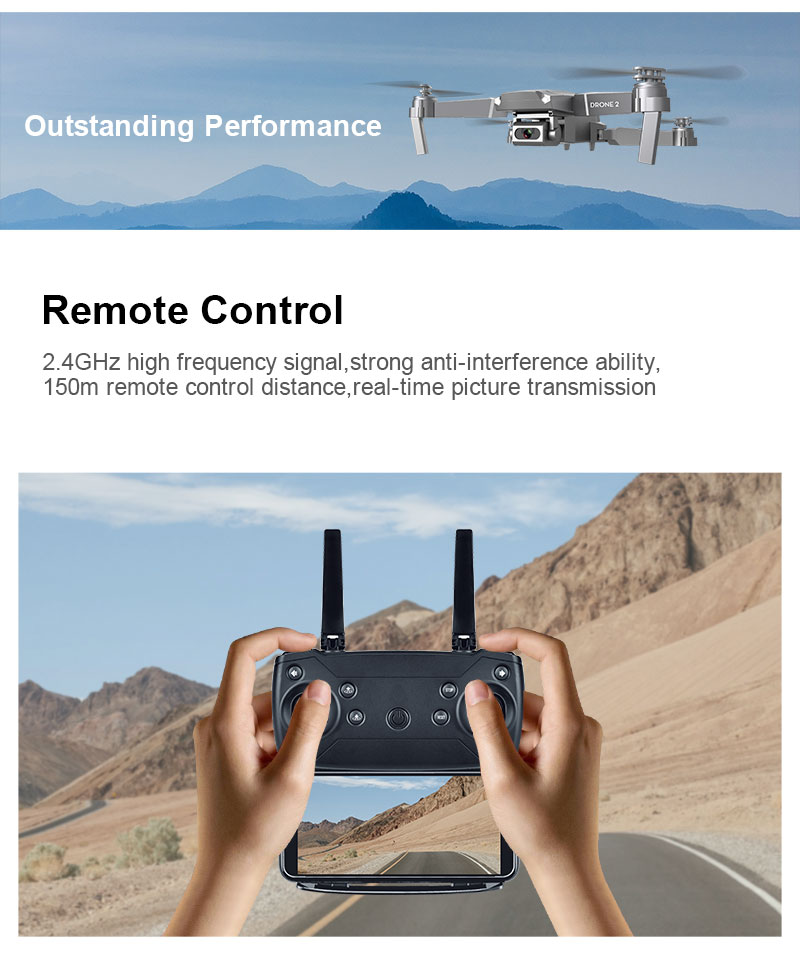 E68 Foldable Drone with 4K HD Selfie Camera and WiFi for Wide Angle Video Shooting 12