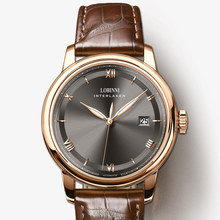 LOBINNI Men Watch Luxury Brand Japan MIYOTA Automatic Mechanical MOVT Mens Wirstwatches Sapphire Leather Relogio Clock L14003-3