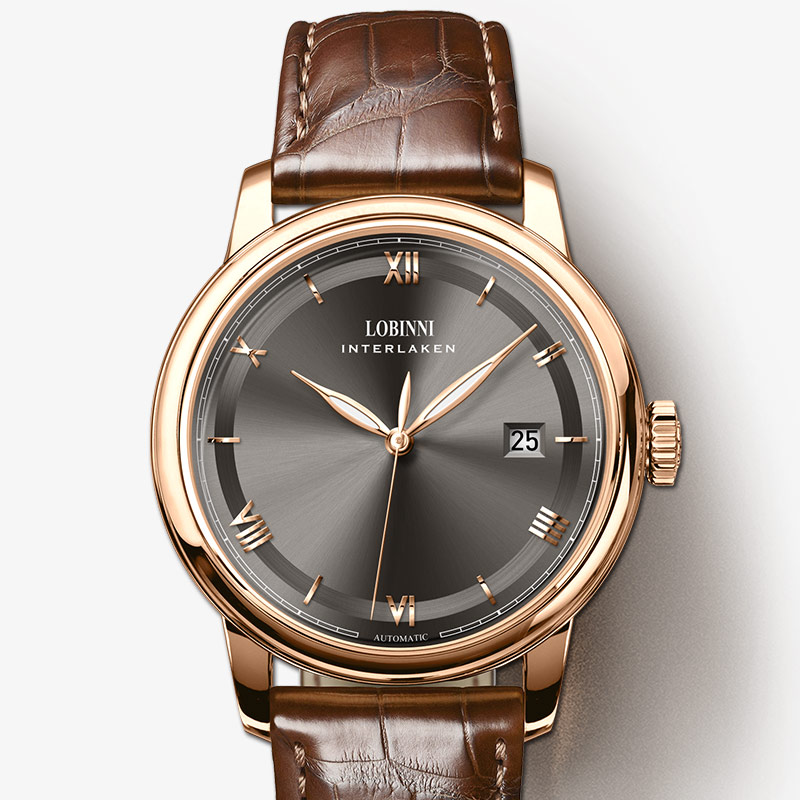 Lobinni 남자 시계 럭셔리 브랜드 일본 miyota 자동 기계 movt 남자 wirstwatches 사파이어 가죽 relogio 시계 L14003 3-에서기계식 시계부터 시계 의  그룹 1