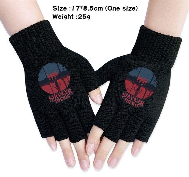 EE/_ Winter Cartoon Kids Boys Girls Gloves Full Finger Warm Embroidery Baby Mitte