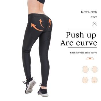 Sexy Push Up Leggings Sport Women Fitness Gym Clothing Work Out Black Jeggings Pants Legins Activewear Sportleggings Leggins 4
