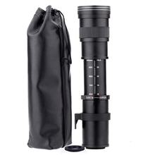 ONLENY 420-800mm F/8.3-16 Super Telephoto Lens Manual Zoom Lens For Canon Nikon Sony Pentax DSLR Camera(China)