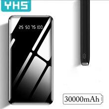 30000 мАч Внешний аккумулятор, портативная зарядка, внешний аккумулятор 30000 мАч, внешний аккумулятор, зарядное устройство для Xiaomi Mi 9 iPhone 11 Max
