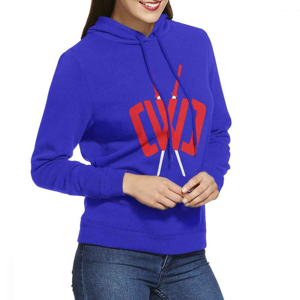 CWC Chad Wild Clay Women's Hoodies Long Sleeve Pullover Casual Cotton Sweatshirt