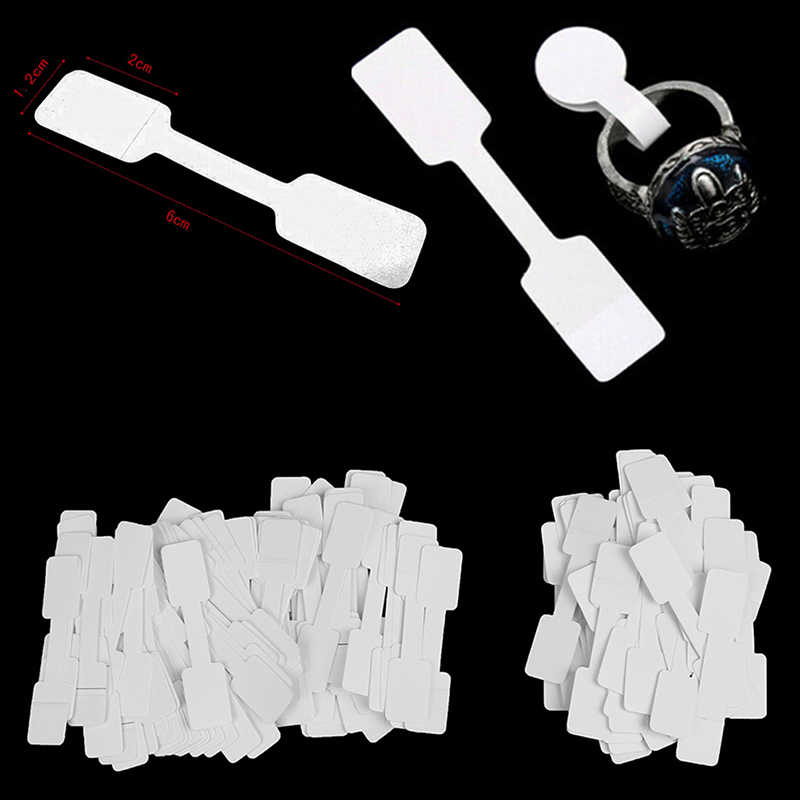 50pcs/100pcs Price Label Tags with Hanging String for Jewelry / Stationery / Shoes / Clothing