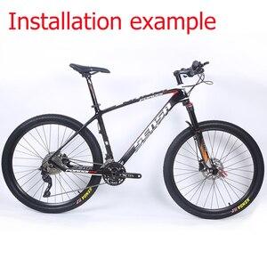 Image 5 - SENSA T800 углеродная MTB велосипедная Рама 27,5 er mtb углеродная рама 27,5x21 дюймов рама карбоновая для горного велосипеда 135*9 мм велосипедная Рама