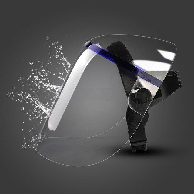 Protective Anti-shock Welding Helmet full Face Shield Solder Mask Plexiglass Face Eye Protect Shield Anti-UV Saliva Safety Masks