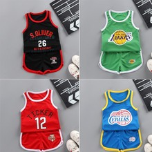 T-Shirt Clothes-Suit Shorts Sport-Clothing 0-4years Baby-Girl Toddler Boys Children Summer