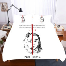 Game Of Thrones King Size Cotton Bedding Sets Skull Duvet Cover Bed Sheets And Pillow cases Linen Set Home Textile