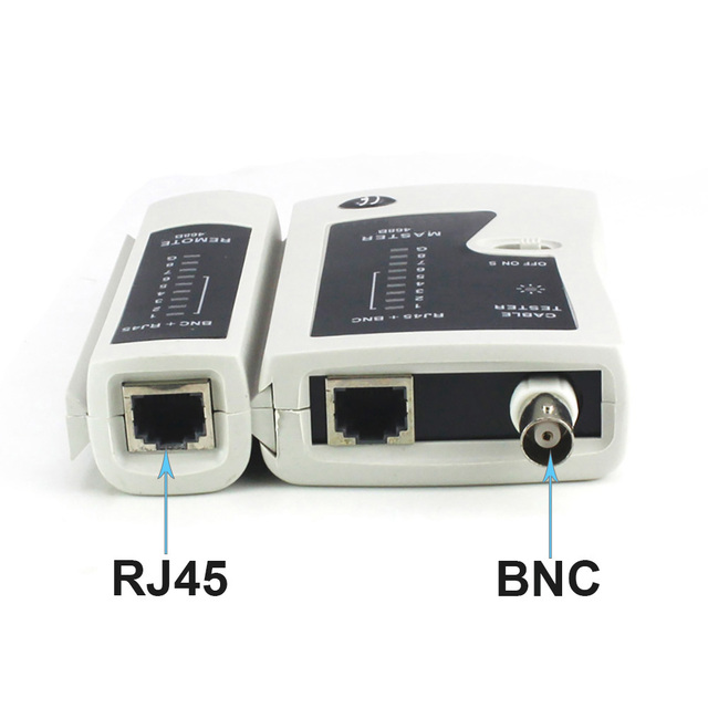 OULLX BNC Coaxial RJ45 Cable Lan Tester Network Tester  Cat5 Cat 6 Cat7 UTP Networking Tool network Repair 2