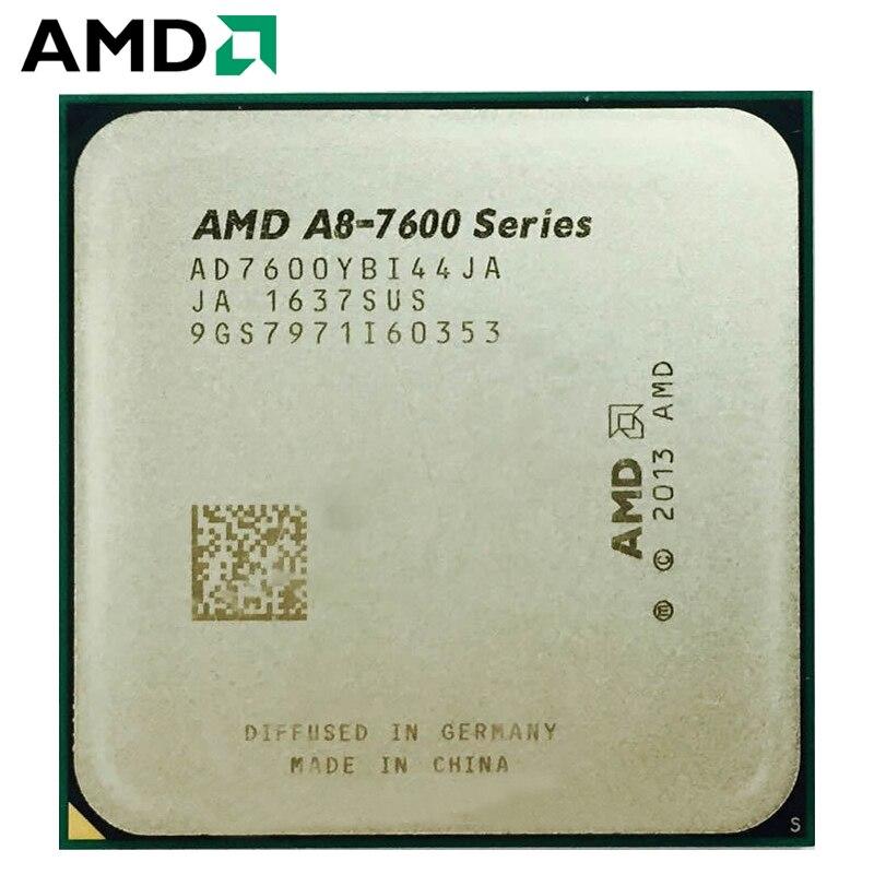 AMD A8-Series A8-7600 A8 7600K A8 7600B 3.1GHz Quad-Core CPU Processor AD7600YBI44JA/AD760BYBI44JA 4M Socket FM2+