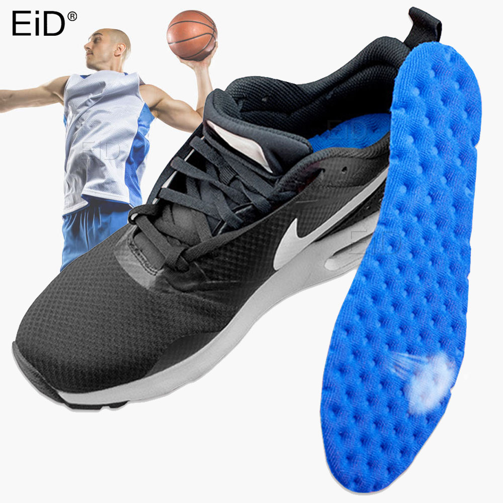 EiD Sport Insoles Air Cushion for Shoes Shock Absorption Damping Running Basketball Football Plantar Fasciitis Shoe Pad Unisex image