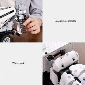 Image 4 - Xiaomi MITU mühendislik karıştırıcı kamyon yapı taşları araba oyuncak çocuklar noel hediyesi montaj yapı tuğla 900 + parçaları bulmacalar DIY