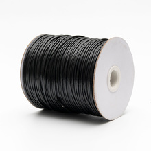 180m/roll axed Polyester Cord 1.5mm Thread String Rope Spool Wire Beading Craft DIY Bracelet Necklaces Jewelry Findings