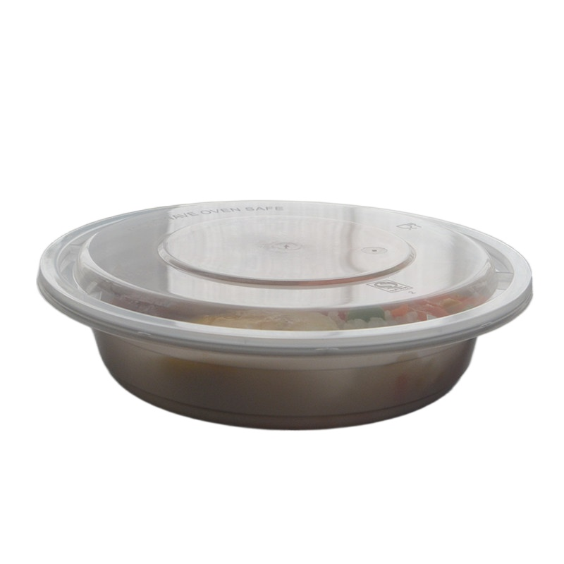 20Pcs Reusable Plastic Meal Storage Food Distributor with Lid Fruit Microwave Household Lunch Box 350ML Small Takeaway