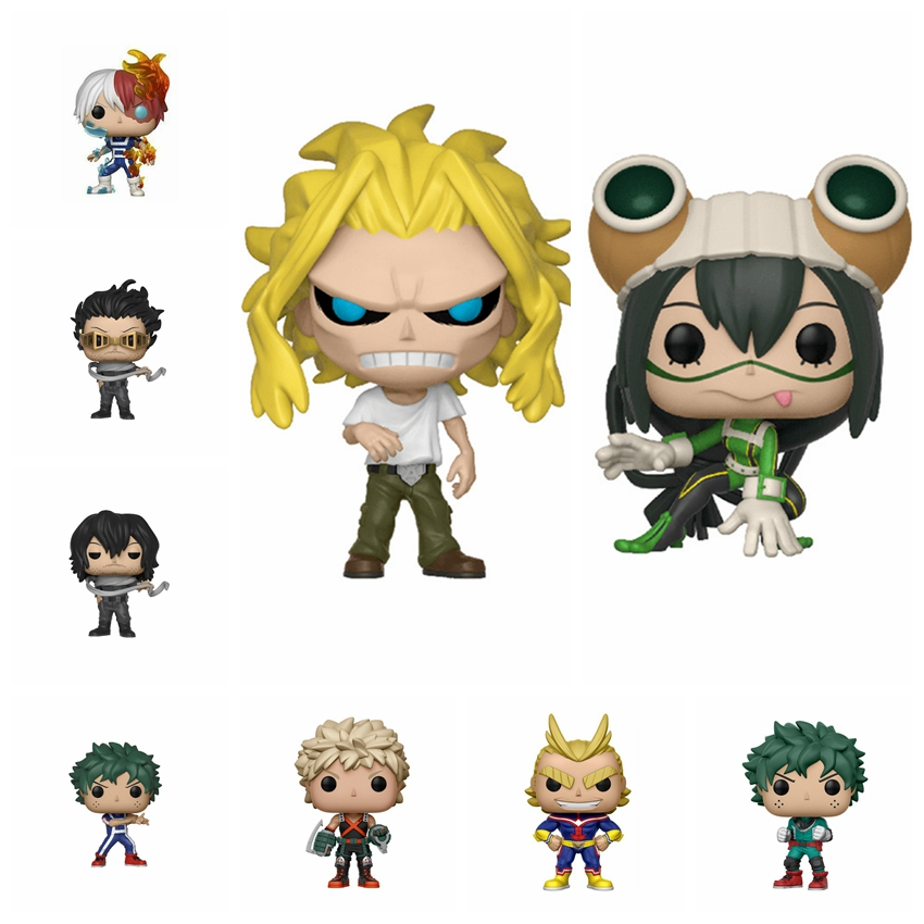 My Hero Academia Action Figure DEKU Aizawa Shota Asui Tsuyu Todoroki Shoto Midoriya Izuku Bakugou Katsuki All Might PVC Toys