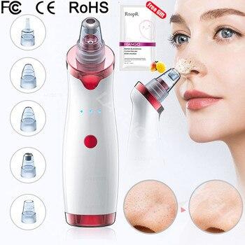 Removedor de cravo rosto nariz profundo limpador t zona poros acne espinha remoção vácuo sucção facial diamante beleza pele limpa ferramenta 1
