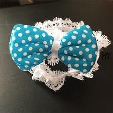 1 Pcs/lot Fashion Children Elastic Hair Bands Kids Ties Childrens Dots Band Headdress Girls Accessories