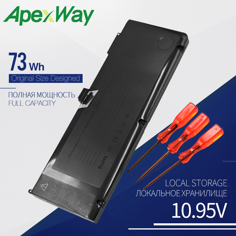 10 95V 73Wh Replacement Battery For font b Apple b font A1321 For font b MacBook