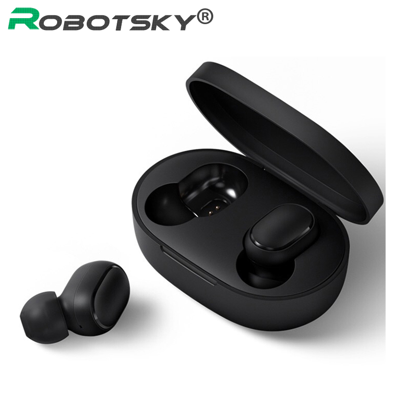 A6S Wireless Earphone Sports Earbuds Bluetooth 5 0 TWS Headsets Noise Cancelling Mic For iPhone Huawei Samsung Xiaomi Redmi