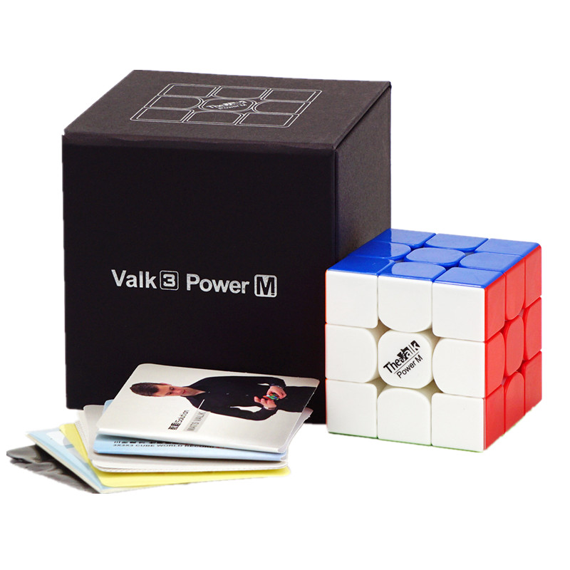 Original Qiyi Valk 3 Power M /valk3 Power Cube 3x3 Speed Magnetic Magic Cube Mofangge Competition Cubo Magico Puzzle Toy Gift