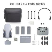 Dji mini 2 zangão rc helicóptero 4k câmera profissional gps quadcopter menos de 249g ultraleve 10km de transmissão mavic mini 2