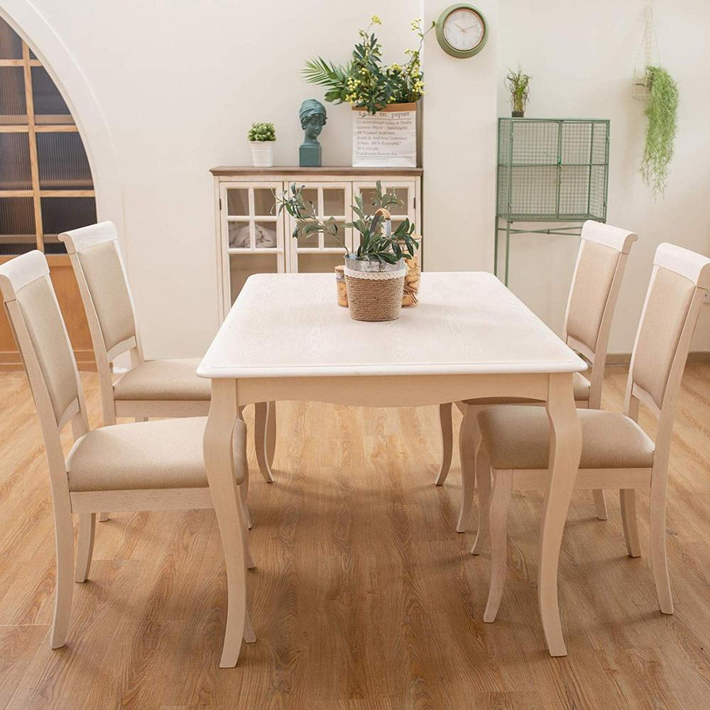 Furgle 5Pcs Wood Nature Table&Chair Dinning Table Made In Malaysia