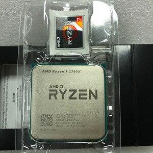Image 2 - AMD Ryzen 7 2700X R7 2700x3.7 GHz, 8 cœurs à filetage sintein, 16M, prise 105W processeur dunité centrale AM4