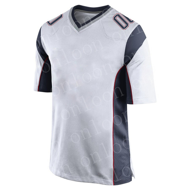 Mens Game Sports New England Fans Jersey Tom Brady Julian Edelman Rob Gronkowski Josh Gordon N'Keal Harry White Game jerseys