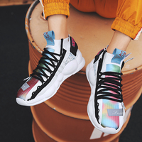 Breathable Men Casual Shoes Stylish Outdoor Flats Shoes Street Style Chunky Sneakers Footwear Krasovki Chessures Homme