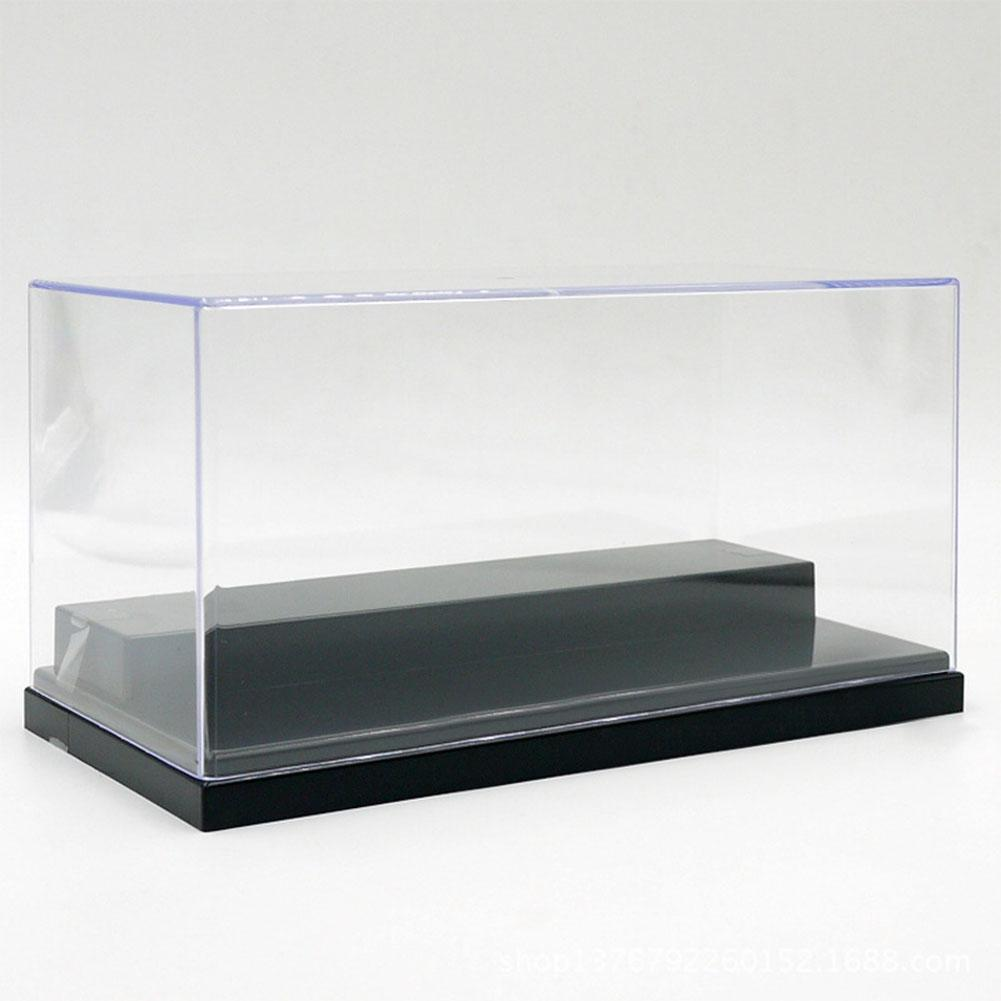 None Figures Protection Showcase Single Sale Display Box With Base Plate For DIY Dolls