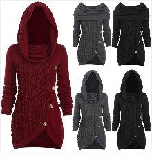 Autumn Winter Coat Women 2019 Plus Size Elegant Long Sleeve Plaid Jackets Female Vintage Oversize Tassel Tweed Wool Blends Black 19