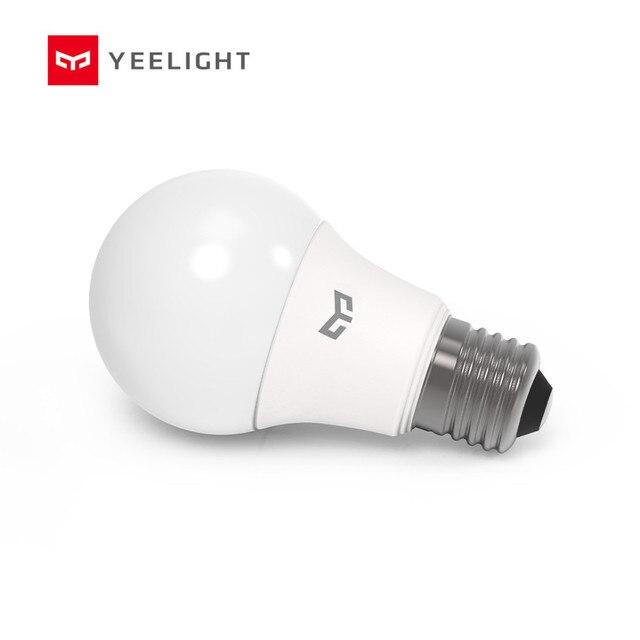 Yeelight LED ampul soğuk beyaz 5W /7W ampul 6500K E27 ampul işık lambası 220V tavan lambası/masa lambası/spot