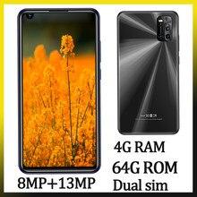 7a smartphones globais 6.72 polegada tela 4gram 64grom 8mp + 13mp frente/câmera traseira telefones celulares android celuars face id desbloqueado