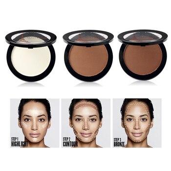 Highlighter Palette Makeup Face Base Contour Powder Bronzer Make Up Facial Brightener Concealer Makeup women face brightener highlighter facial makeup contour cream glow illuminator shimmer liquid highlighter make up cosmetics