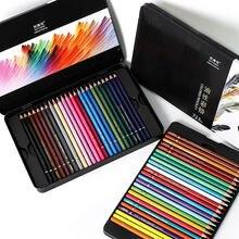 CHENYU120-lápices De colores De madera para la escuela, material De arte para dibujo profesional