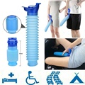 High Quality Male & Female Emergency Portable Urinal Go Out Travel Camping Car Toilet Pee Bottle 750ml Blue Urinals Washable New