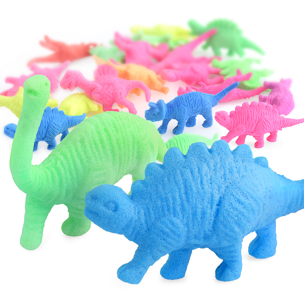 10/20/50pcs Water Growing Toys Hydrogel Magic Water Growing Sea Life Land Animals Educational Decoration Funny Kids Education