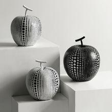 Скандинавское украшение для яблока креативная смола скульптура