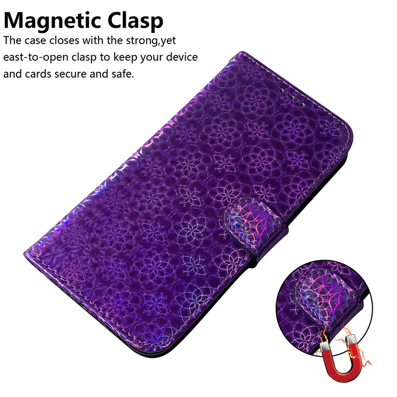 Gradient Colorful PU Leather Case for iPhone 11/11 Pro/11 Pro Max 5