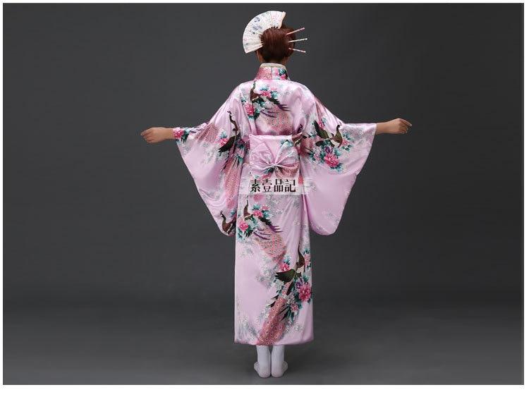 Japão kimono roupão mulher japonês kimono cos