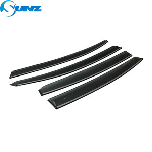 Image 2 - Side window deflectors For VOLVO S90 2017 2018  Window Air Vent Visor Sun Shade Awnings Shelters Guards car styling SUNZ