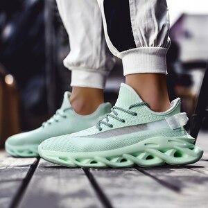 Image 4 - Heidsy baskets légères en maille à Air pour hommes, chaussures De printemps, nouvelle mode 2020