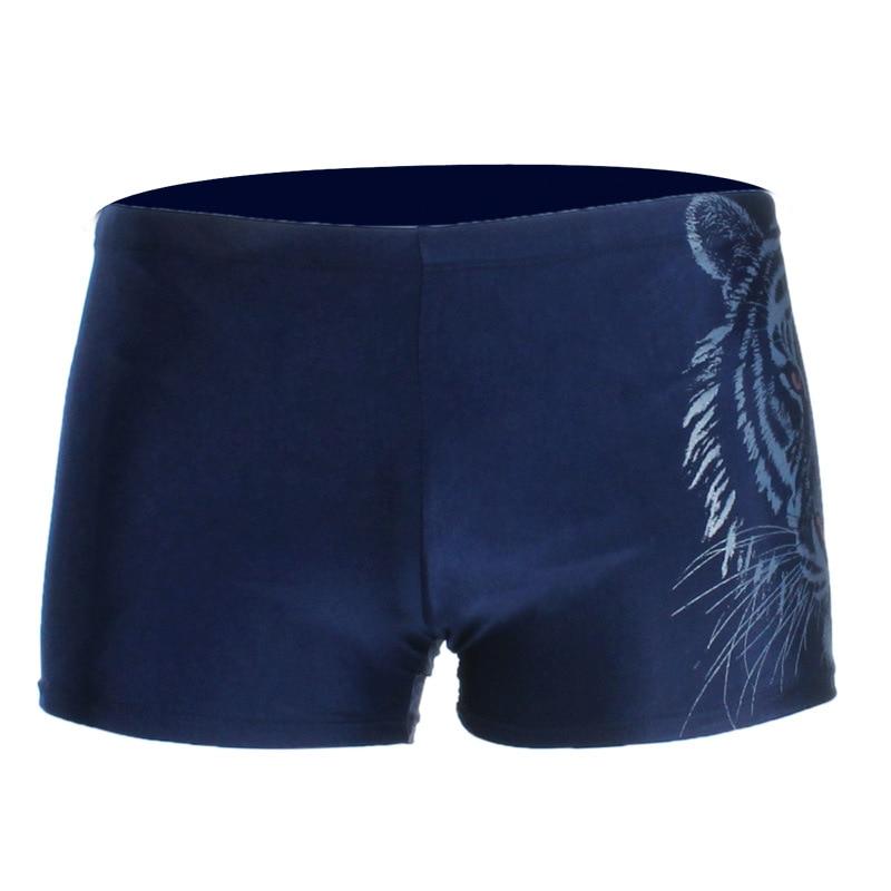 Qicaibei Swimming Grams 1712 Swimming Trunks Men's AussieBum Plus-sized Swimming Boxers Male Swimming Trunks