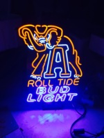 neon sign Elephant bud light gass neon MILLER Genuine Draft Neon Sign Led Neon Beer Sign With Acrylic Base