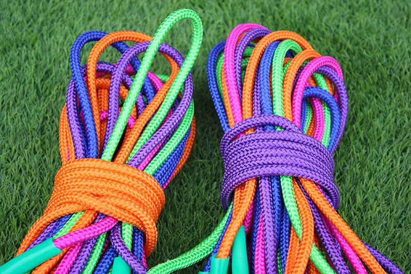 Rough Cord Bearing Big Flower To Jump Rope Style Multiple Shop Primary School STUDENT'S Exam Jump Rope